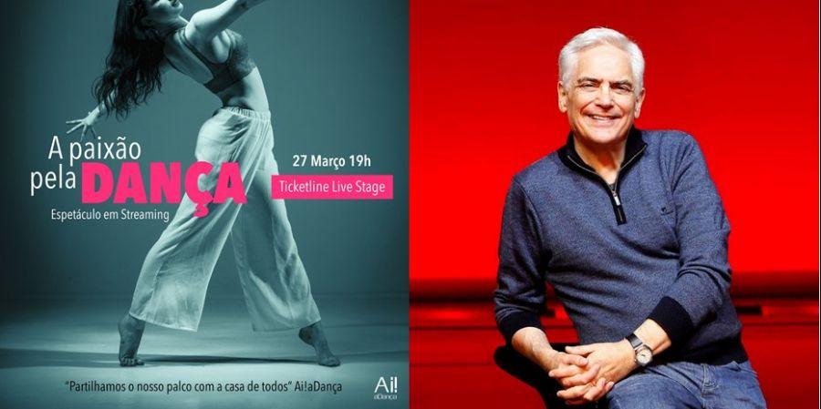 Filipe La Féria em 'A Paixão pela Dança' | 3ª Edição | 27 de março | 19h | Streaming