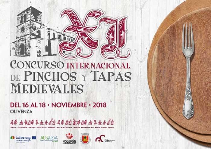 XI Edición del Concurso de Tapas y Pinchos Medievales | OLIVENZA