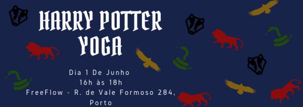 Harry Potter Yoga evento solidário