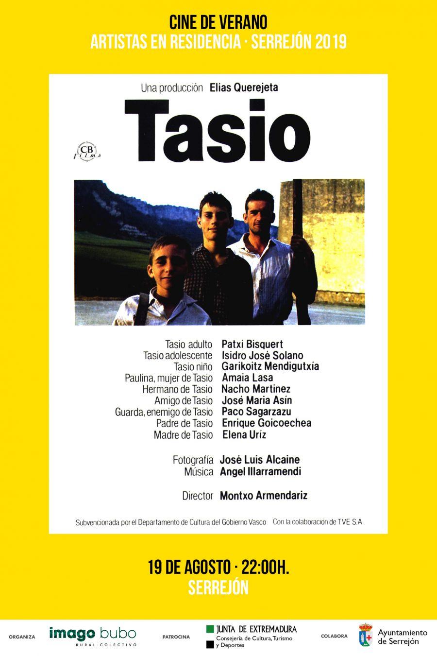 Tasio (Cine de Verano · Residencia de Artistas)