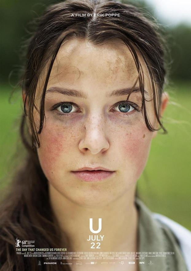 Festival de cine europeo 2019. Utoya 22. Noruega