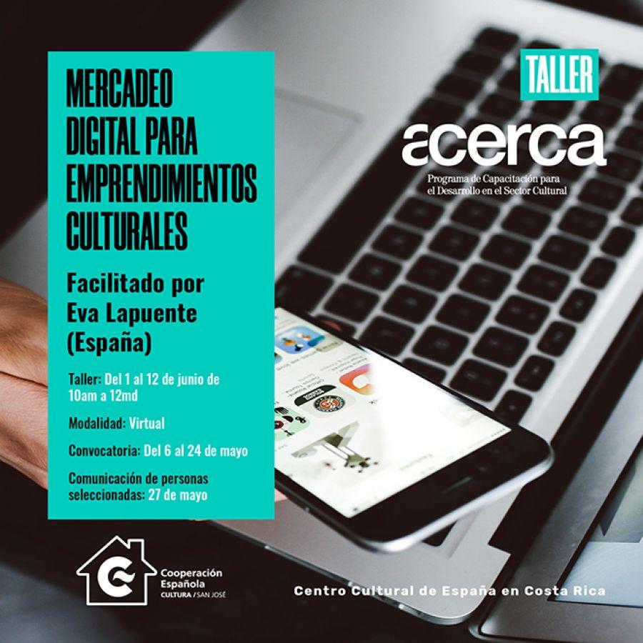 Mercadeo digital para emprendimientos culturales