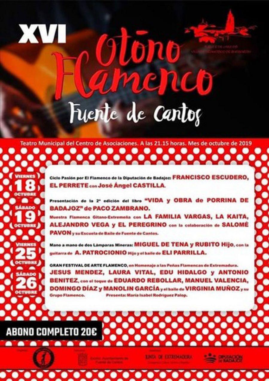 XVI Festival de Otoño de Fuente de Cantos