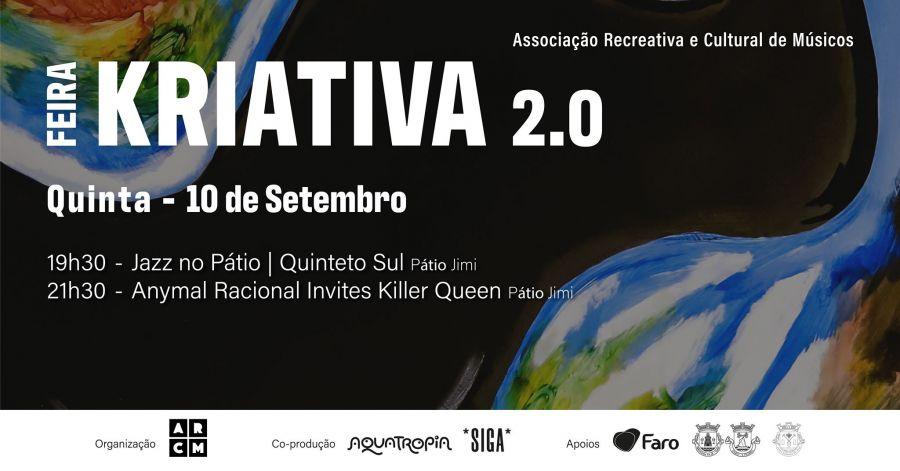 Feira Kriativa | programação *SIGA* - Quinteto Sul, Anymal Racional invites Killer Queen