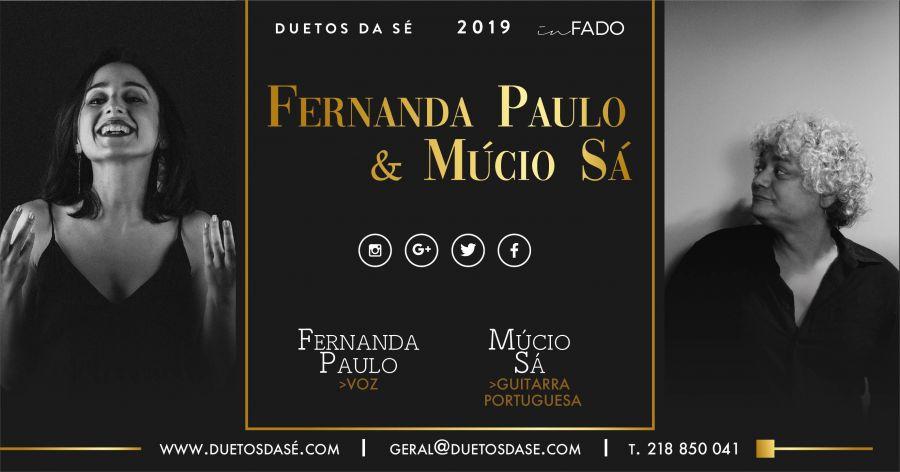 IN FADO - Fernanda Paulo & Múcio Sá