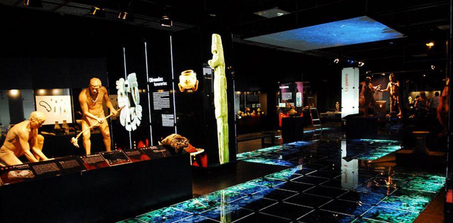 Sala El Jade. Piezas de jade y materiales asociados