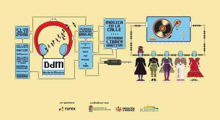 DdM DÍA DE LA MÚSICA EN LA SERENA // Sábado 27 // Mañana y Tarde //