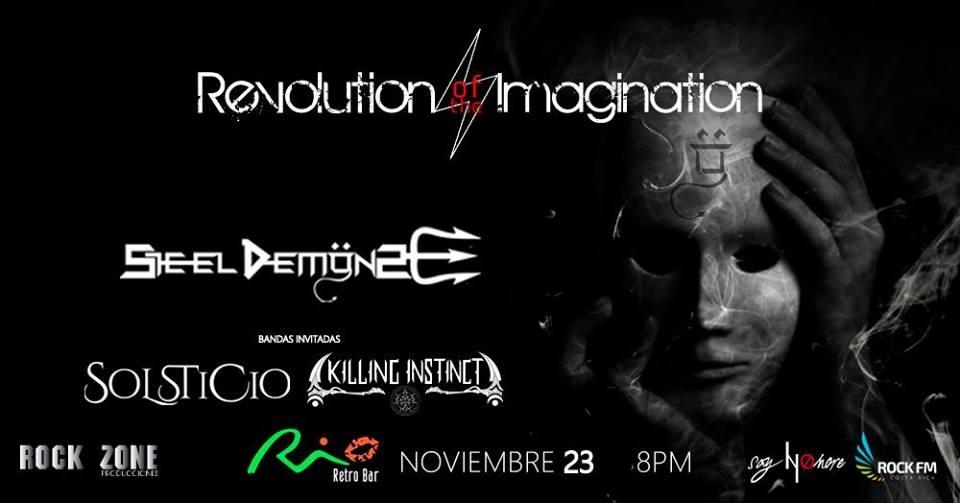 Revolution of the imagination. Steel Demons. Banda, metal-progresivo