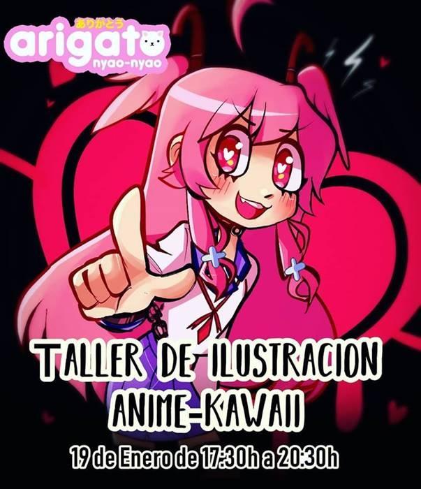 Taller de Ilustración Anime Kawaii   Ecosistema W