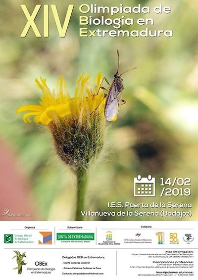 XIV Olimpiada de Biología en Extremadura