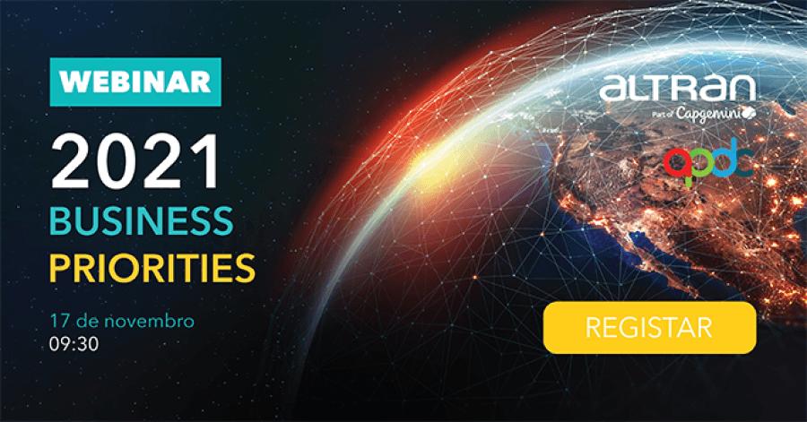 Webinar 2021: BUSINESS PRIORITIES
