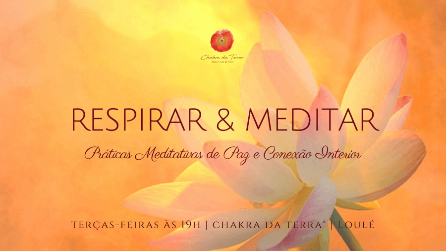 Respirar & Meditar * Práticas Meditativas de Paz e Conexão