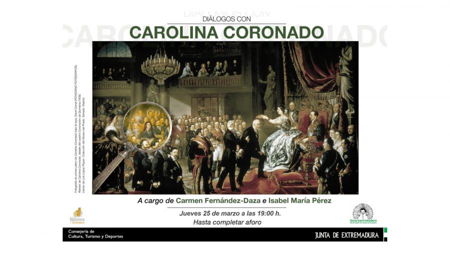 Diálogos con Carolina Coronado