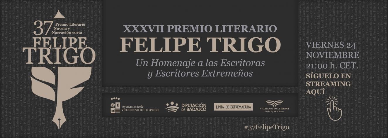 Semana Literaria del #37FelipeTrigo. Gala Literaria.