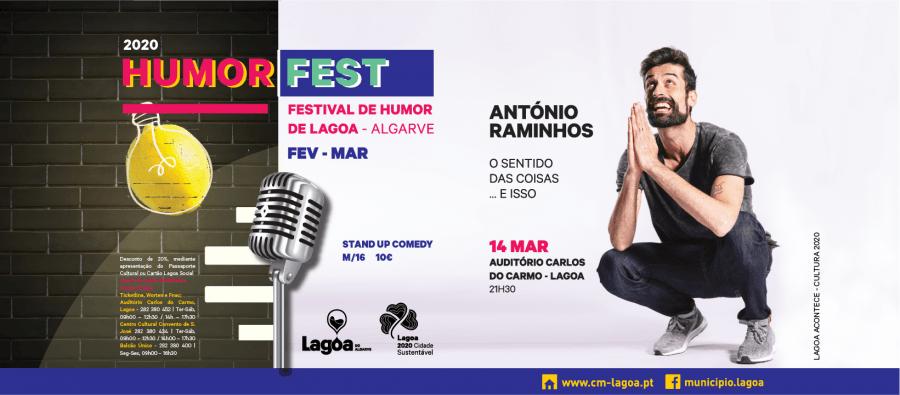 Humorfest 2020 | António Raminhos - O Sentido das Coisas... E isso