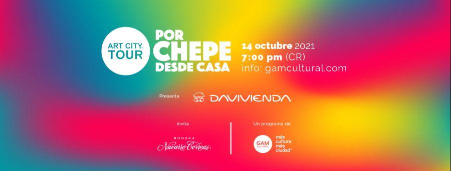 ULTIMO Art City Tour VIRTUAL del 2021: Por Chepe desde casa
