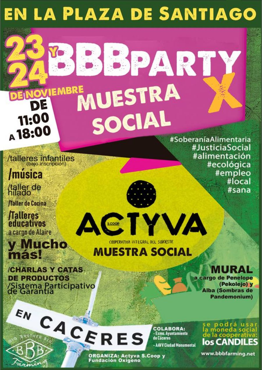 Muestra Social BBBParty X