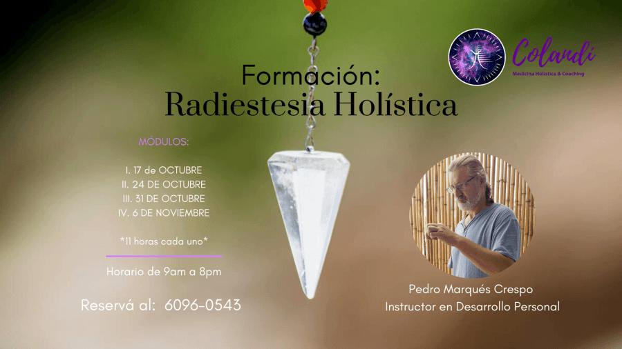 Formación, Radiestesia Holística