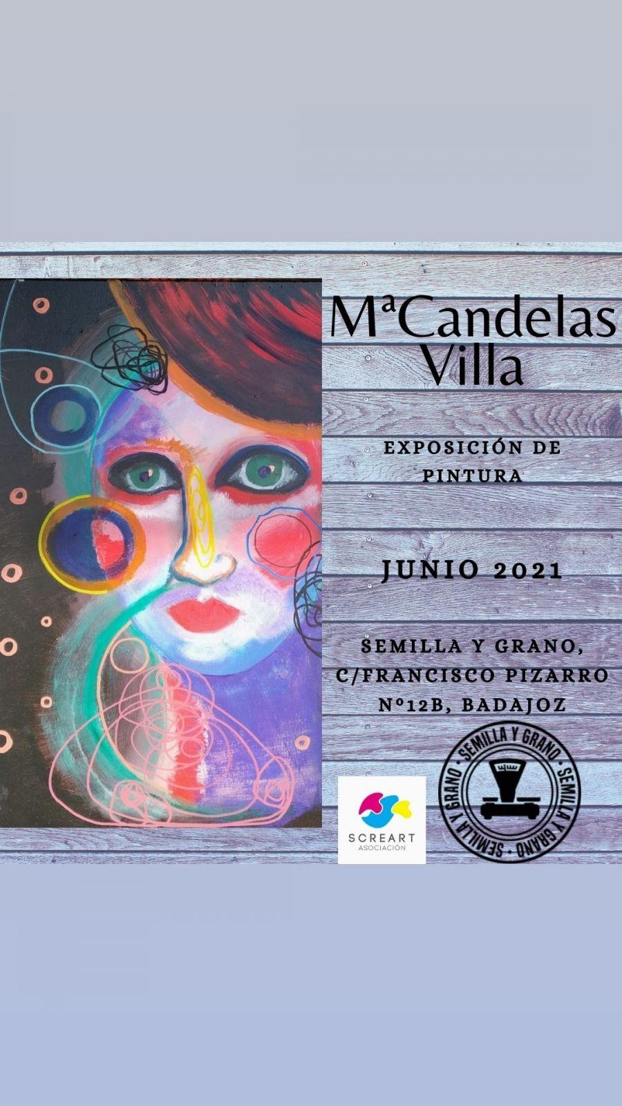 Exposición Pintura M. Candelas Villa