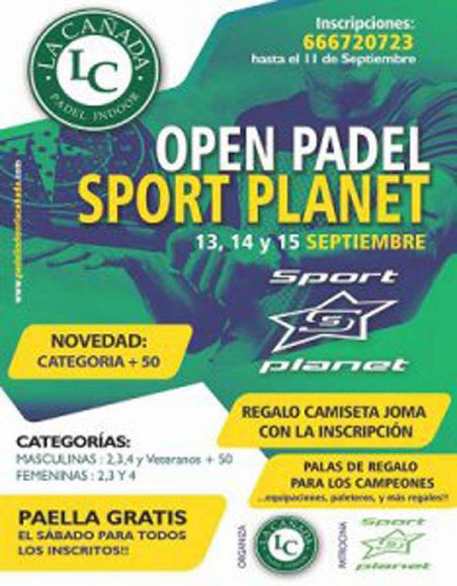 Open de Padel Sport Planet