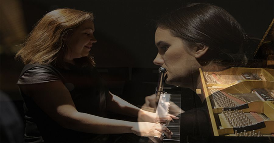 DUO SOND'AR-TE FLAUTA E PIANO. • RECITAL ANTENA 2