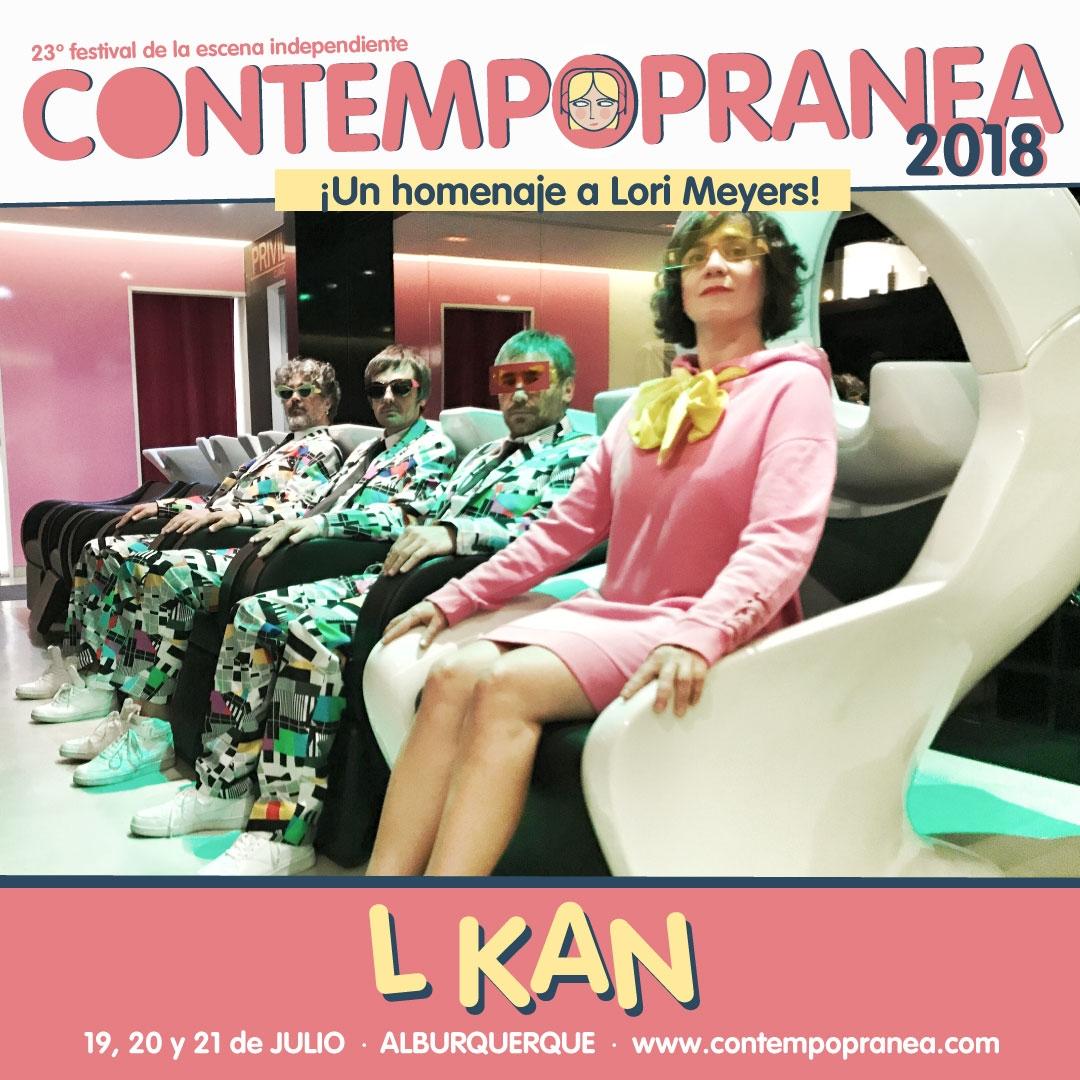 Viernes // L KAN + EL GALLO VERDE DJ // Escenario PASEO DE LAS LADERAS