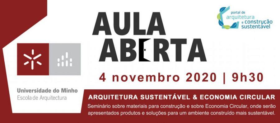 AULA ABERTA | ESCOLA DE ARQUITETURA DA UNIVERSIDADE DO MINHO