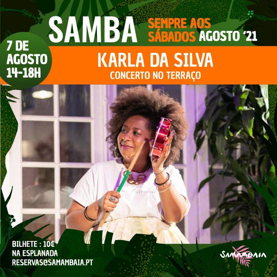 Karla da Silva no Terraço