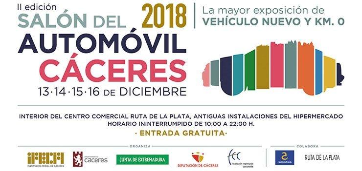 SALÓN DEL AUTOMÓVIL Cáceres 2018   II Edición