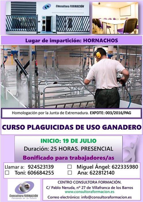 CURSO PLAGUICIDAS DE USO GANADERO