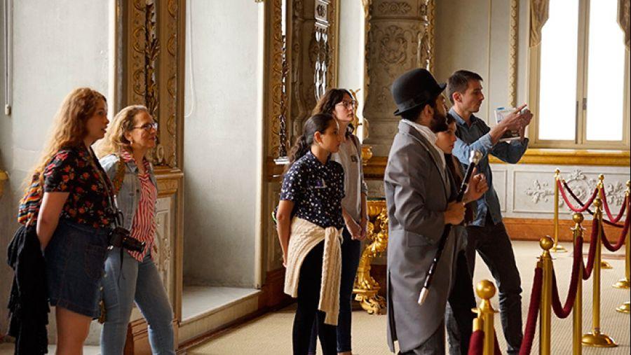 Teatro tour. Visita dramatizada por el Teatro Nacional de Costa Rica