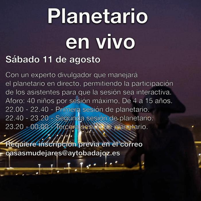 PERSEIDAS desde el Fuerte de San Cristóbal || Observación de lluvia de estrellas || Planetario en Vivo