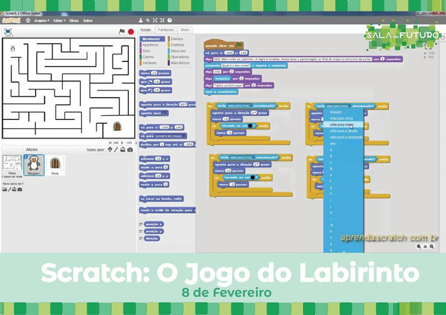 Scratch: O Jogo do Labirinto