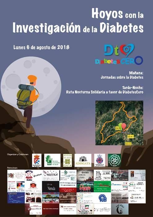 Jornadas sobre la Diabetes y Ruta Nocturna Solidaria || HOYOS