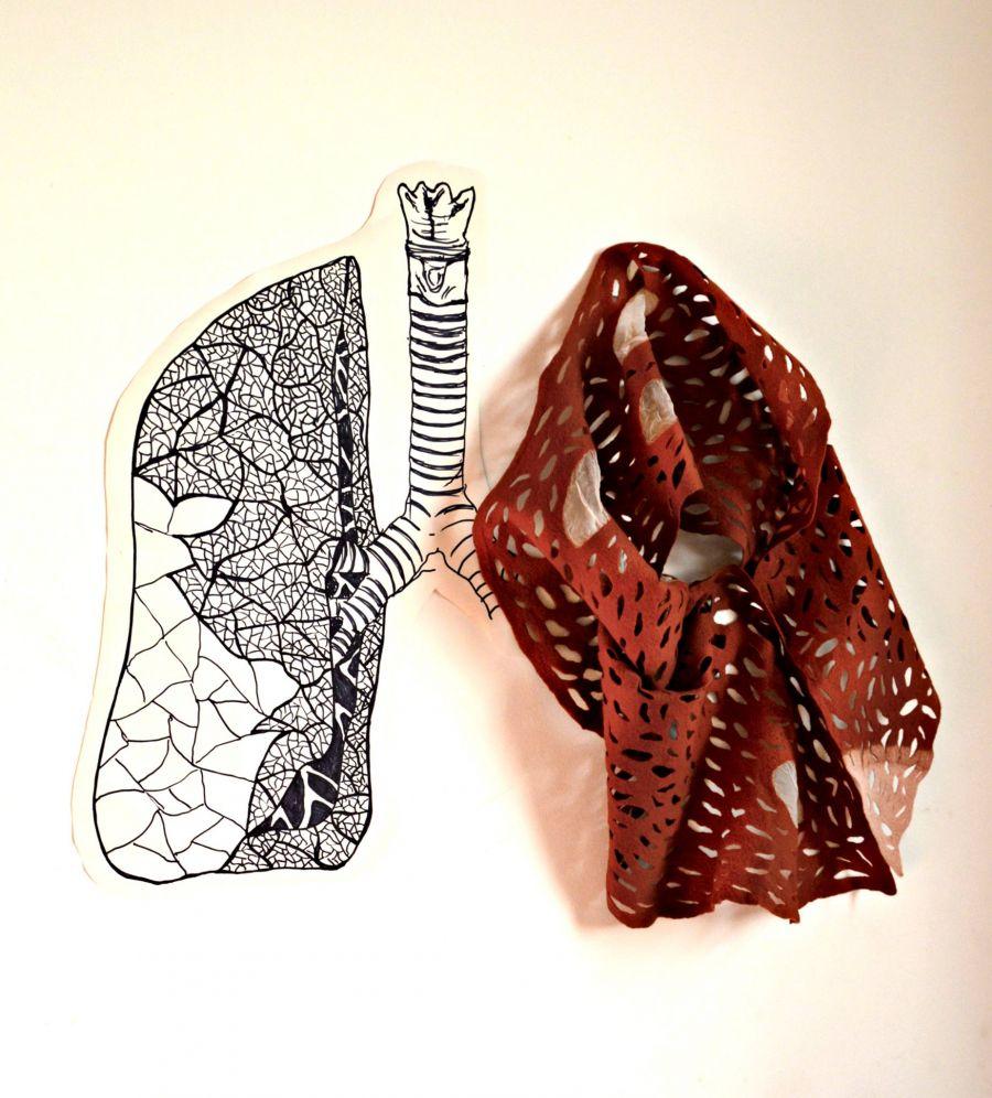 Workshop de LostinLace ou Renda em lã feltrada
