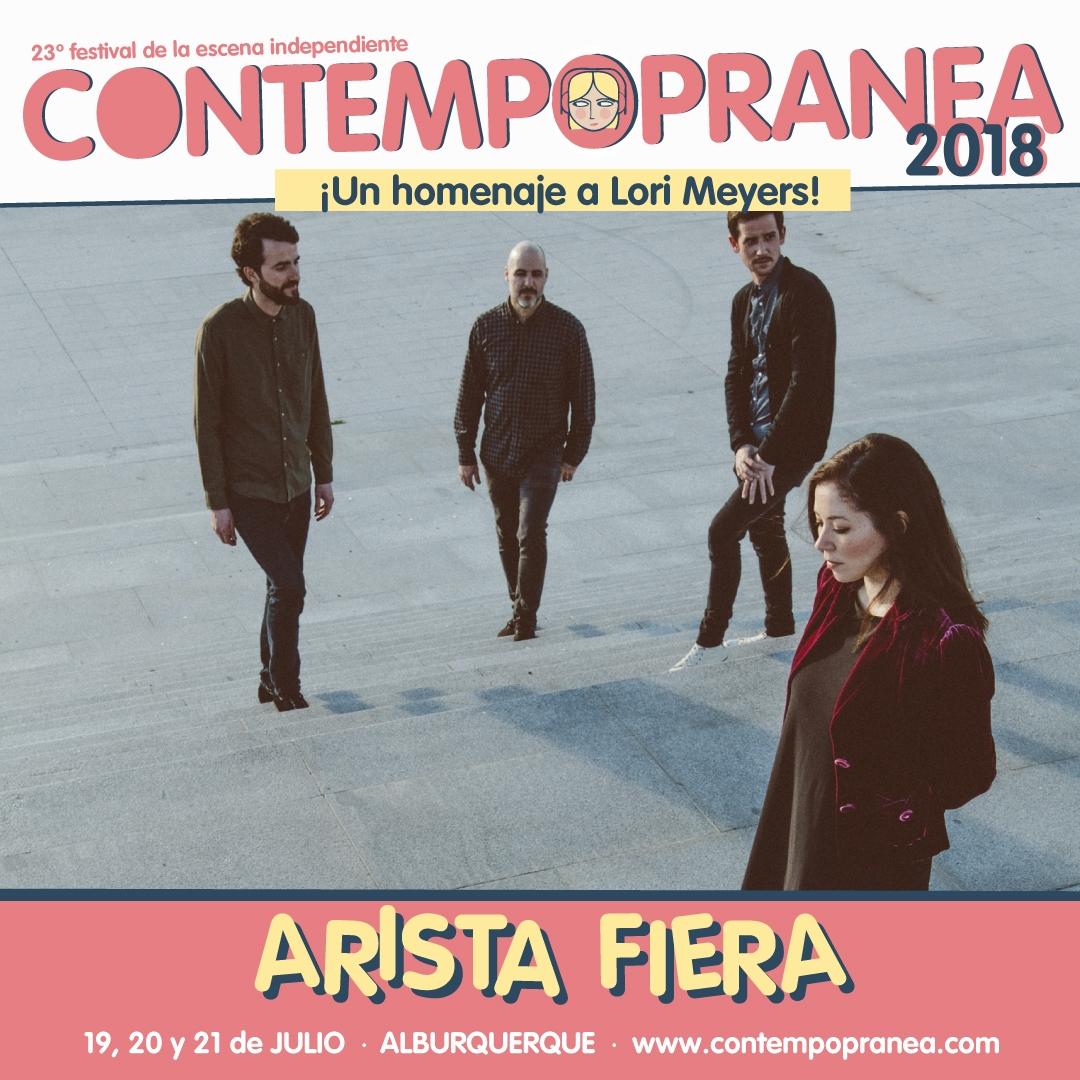 ARISTA FIERA // Escenario PASEO DE LAS LADERAS