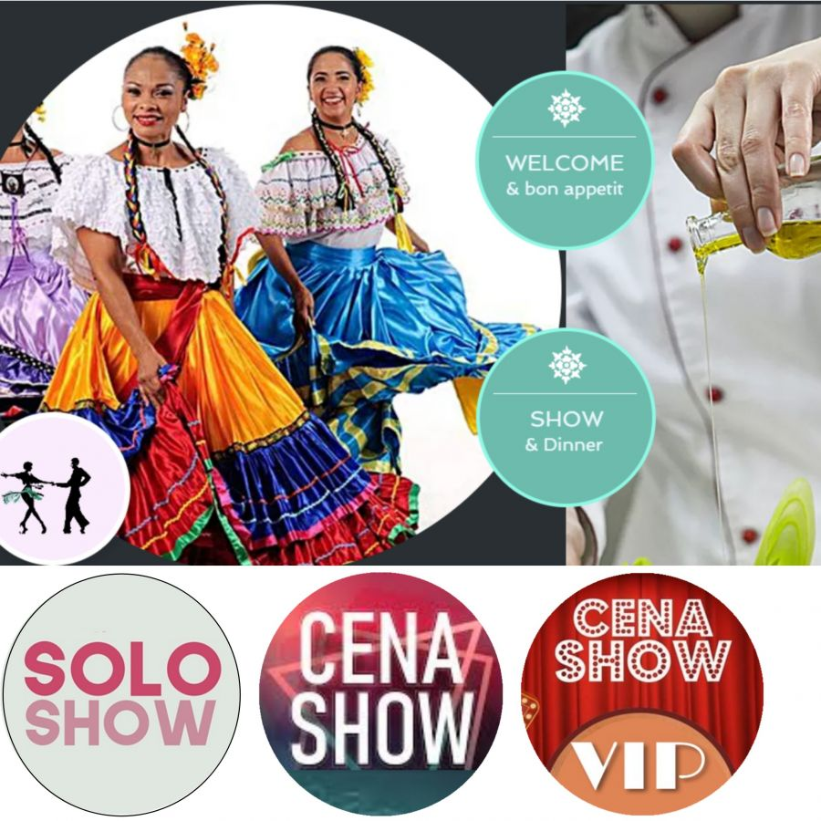 Show en vivo la Fortuna. Cena, música y baile