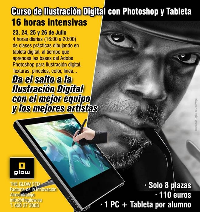 Curso de Ilustración Digital con Photoshop y Tableta