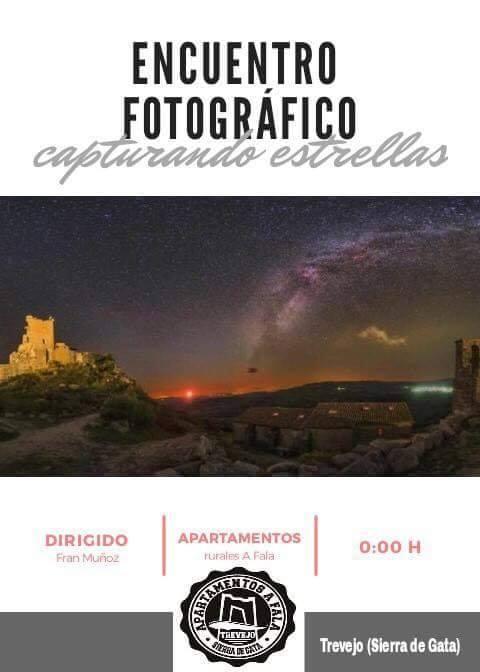 Encuentro fotográfico 'Capturando estrellas' en Trevejo