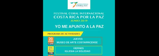 III Festival Internacional de Coros Costa Rica 2019