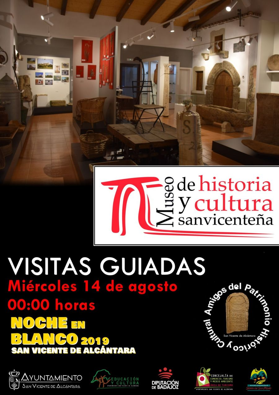 VISITAS GUIADAS AL MUSEO DE HISTORIA Y CULTURA SANVICENTEÑA