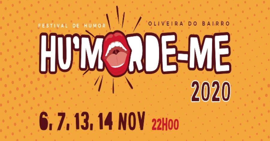 Festival de Humor de Oliveira do Bairro - Hu'morde-me