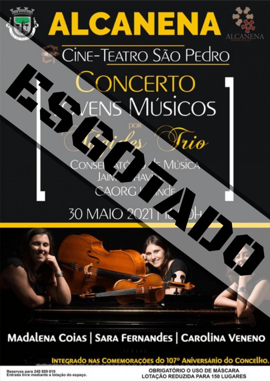 Concerto Jovens Músicos, por Tágides Trio/ESGOTADO