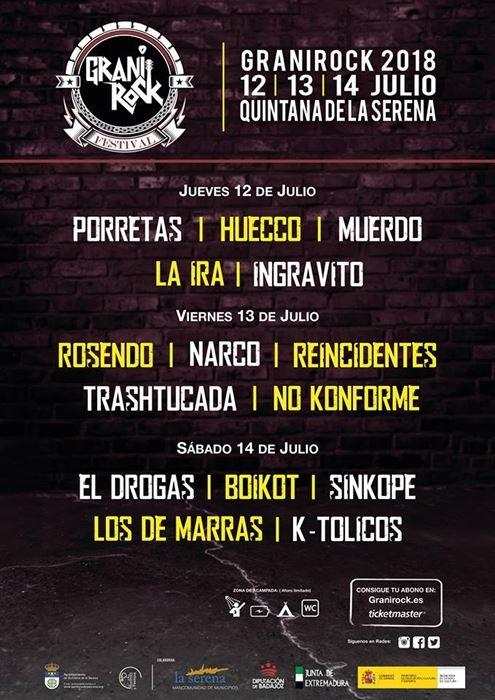 Granirock :: 12-13-14 Julio :: Quintana de la Serena