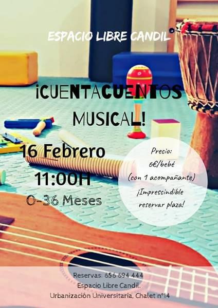 CUENTACUENTOS MUSICAL   Espacio Libre Candil