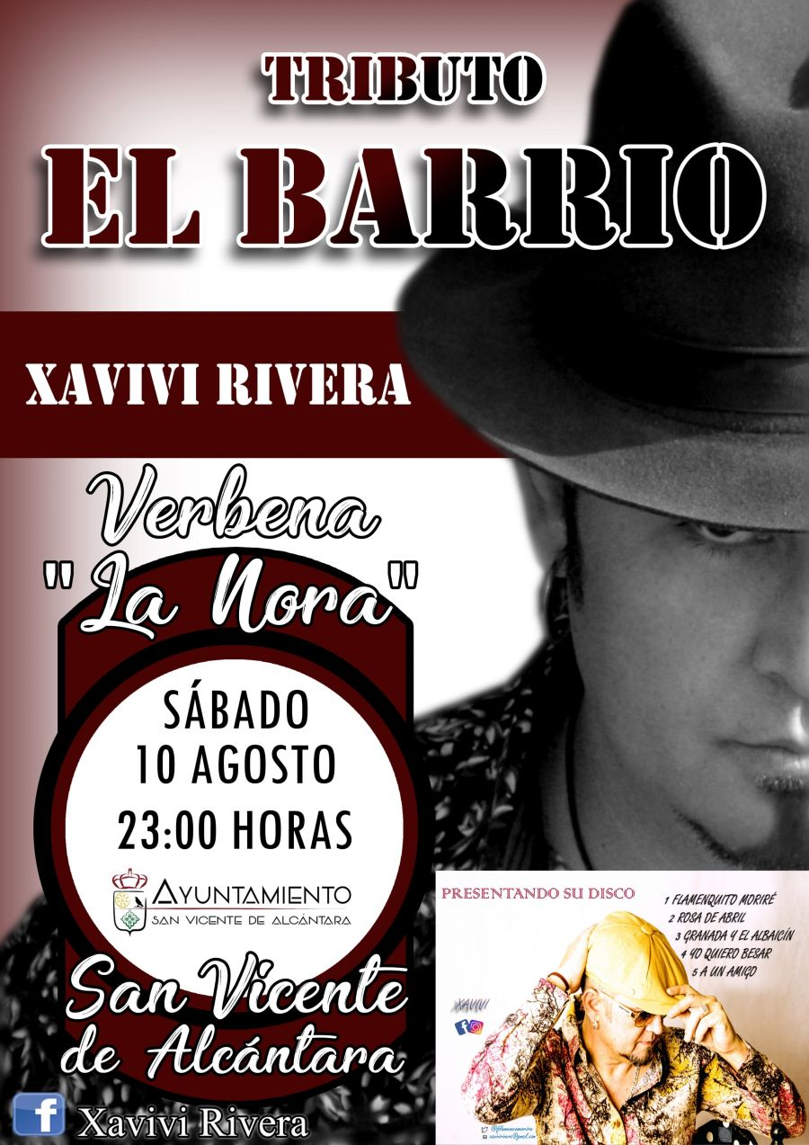 VERBENA DE LA NORA 'XAVIVI RIVERA' TRIBUTO AL BARRIO