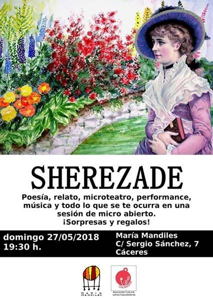 Sherezade. Micro abierto cultural