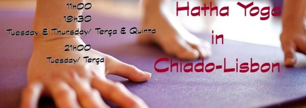 Hatha Yoga in Lisboa-Chiado