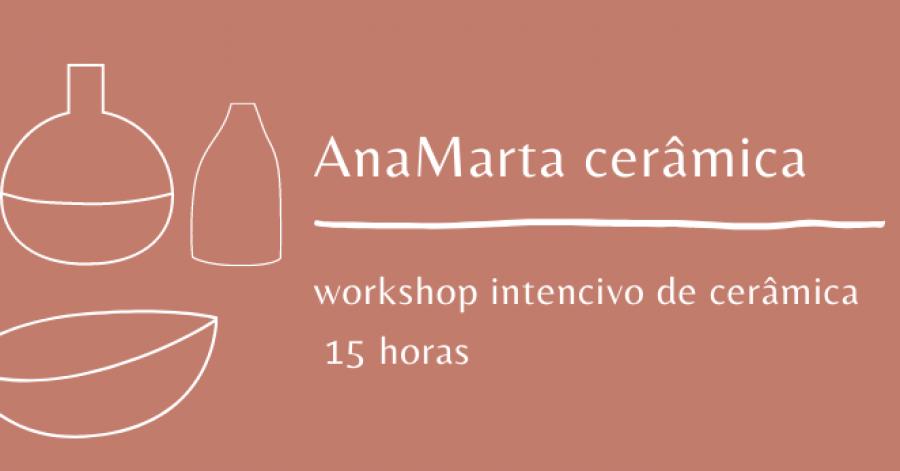 Workshop intensivo de cerâmica | Intensive ceramics workshop