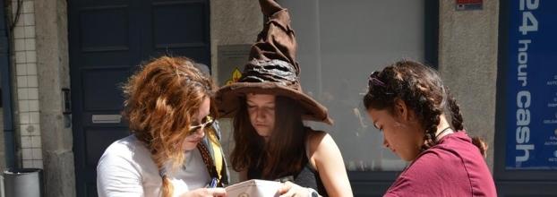 'O Porto Mágico de Harry Potter' edição final de tarde de Halloween